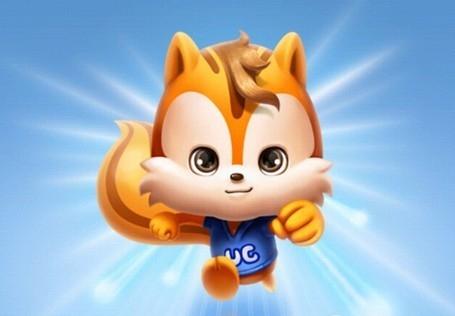 """""""         据uc公司方面介绍,松鼠是世界上跑得最快的小动物,寓意uc"""