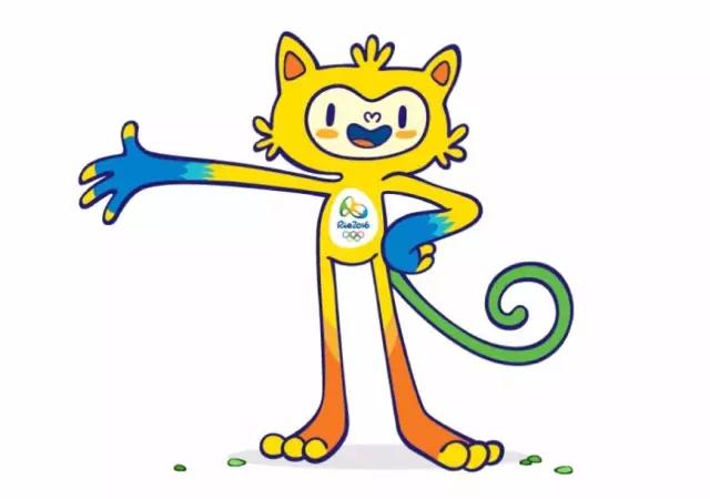 满是槽点的里约奥运会,连吉祥物都很杀马特图片
